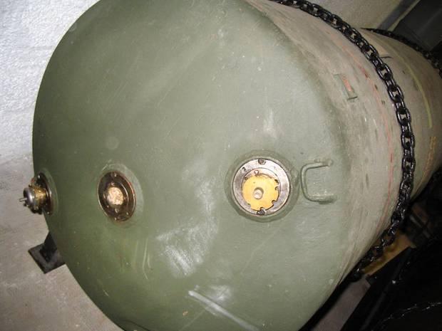 Eine Luftmine vom Typ HC 4000 (Archivbild)