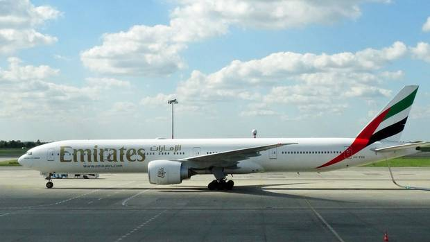 Boeing 777-300 von Emirates Airlines