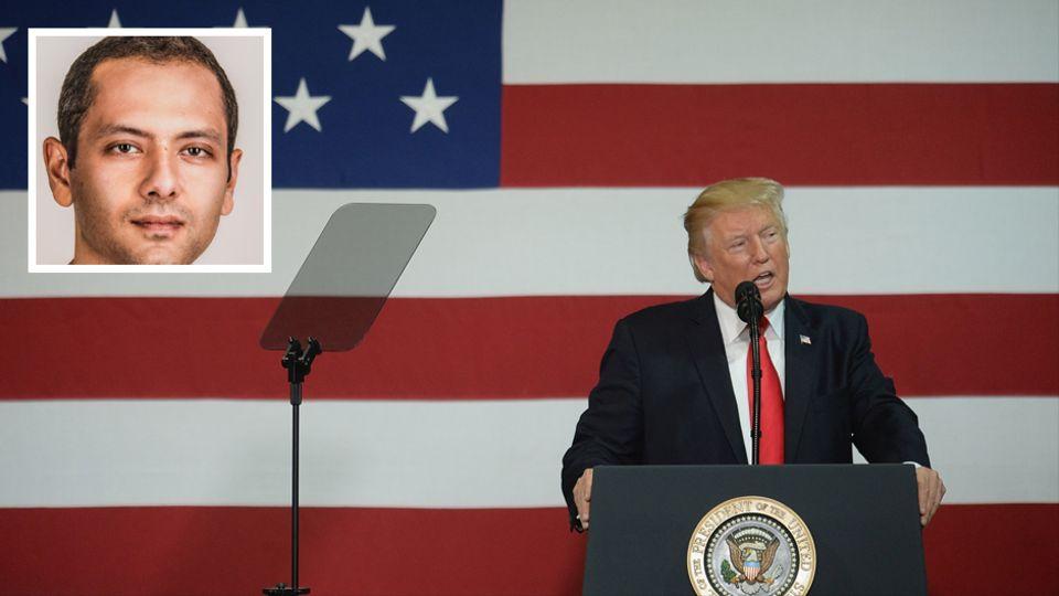 """""""Trump ist nur ein Maskottchen""""– sagt der Schriftsteller Omar El Akkad"""