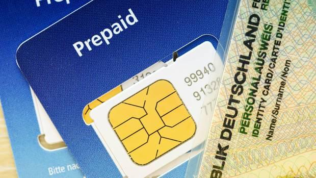 Prepaid-SIM-Karte und Personalausweis
