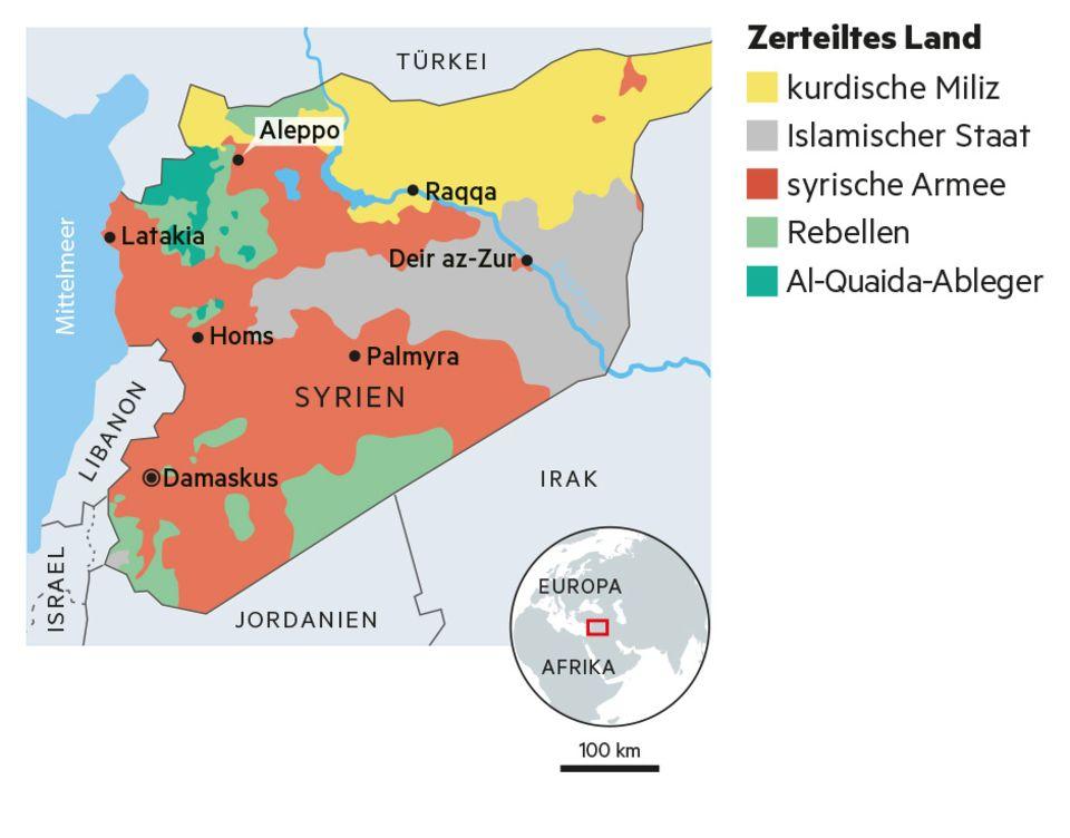 Syrien: Der Frieden ist zurück in Aleppo - aber auch die Diktatur