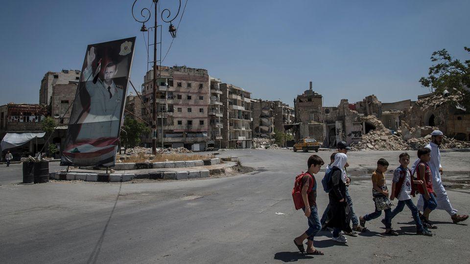 Aleppo nach der syrischen Revolution: Unter den Ruinen das Leben