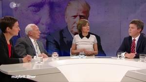 """""""Maybrit Illner"""": Donald Trump hat mal wieder die Herrschaft über eine Talkrunde gewonnen."""