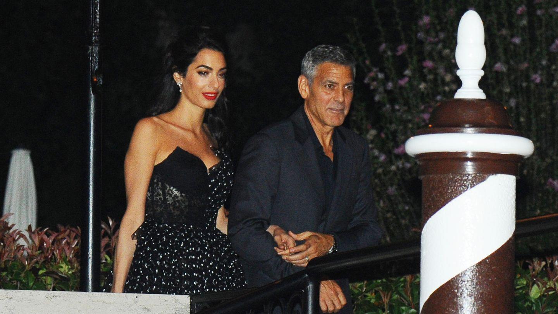 George und Amal Clooney in Venedig auf dem Filmfestival