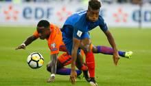 Kingsley Coman im Spiel gegen Oranje