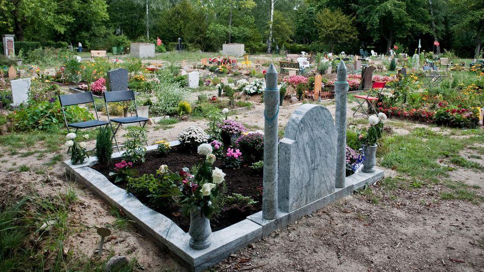 Der islamische Friedhof in Berlin-Neukölln
