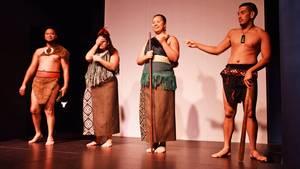 Maori Cultural Performance im Auckland Museum