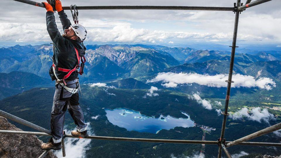 Zugspitze: Hier entsteht eine neue, gigantische Seilbahn
