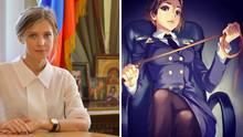 Natalia Poklonskaja: Krim-Staatsanwältin wird Manga-Star in Japan