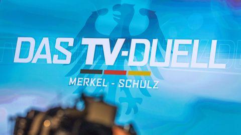 Merkel versus Schulz: Hinter den Kulissen des TV-Duells