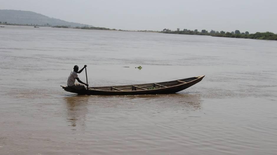 In Nigeria führt der Fluss Benue (Archivbild von 2015) nach sintflutartigen Regenfällen Hochwasser