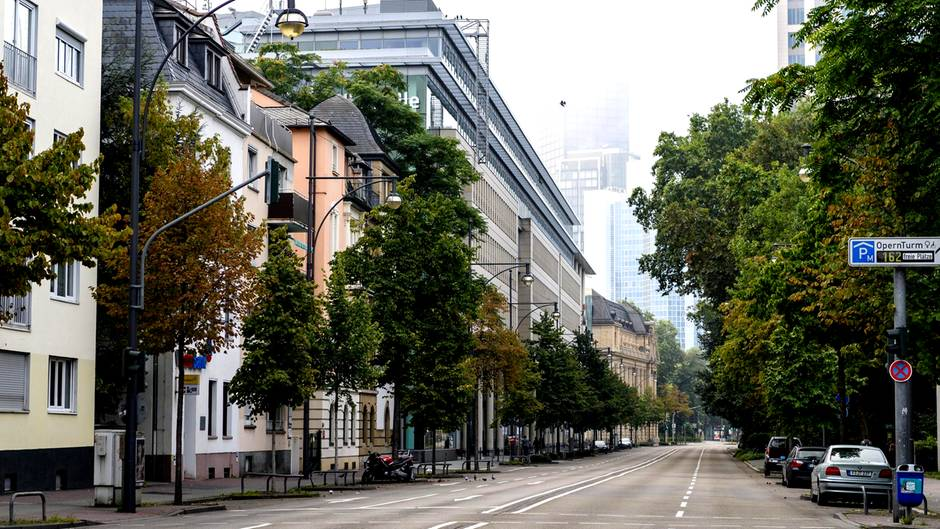 Frankfurt als Geisterstadt