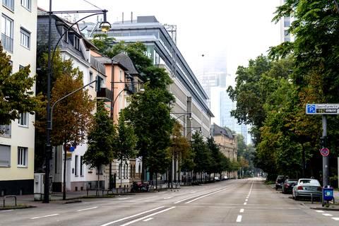 Bombenentschärfung: Ab 12.00 Uhr soll die Frankfurter Weltkriegsbombe entschärft werden
