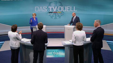 Angela Merkel und Martin Schulz im Fokus: Ist die Wahl wirklich schon gelaufen?