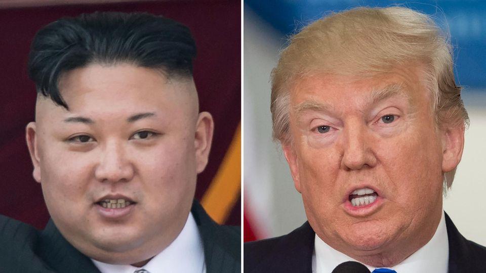 Kim Jong Un und Donald Trump: Die Krise um Nordkorea spitzt sich immer mehr zu
