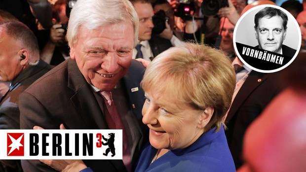 Angela Merkel Volker Bouffier