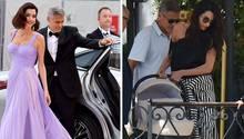 George und Amal Clooney besuchen die Filmfestspiele in Venedig