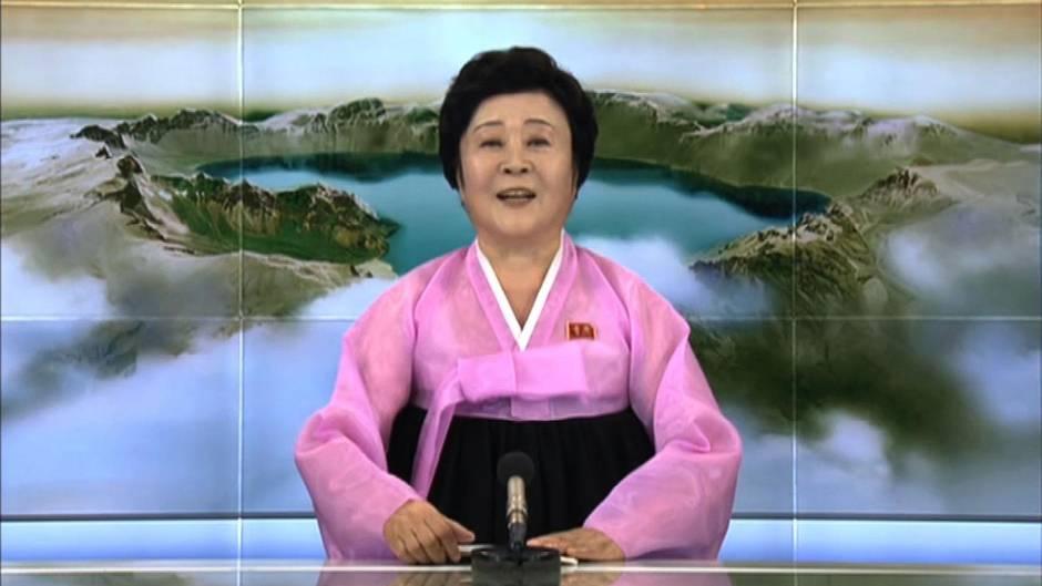 Nordkorea: Eine der bekanntesten Moderatorinnen der Welt: Ri Chun Hee