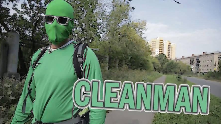 Cleanman - Ein Russe kämpft gegen Müll