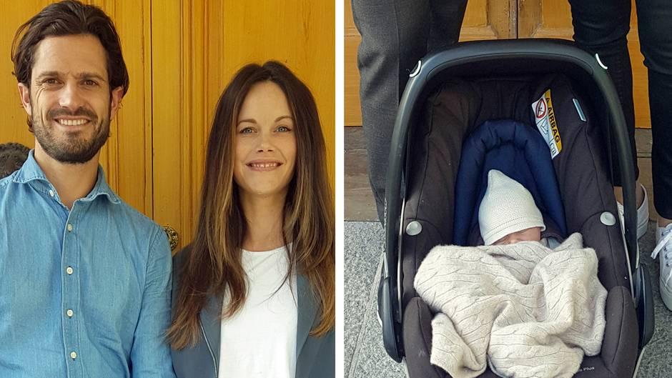 Royal Baby In Schweden So Heißt Der Sohn Von Carl Philip Und Sofia