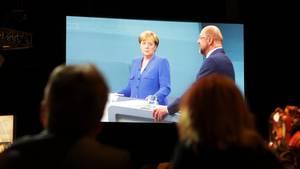 Das TV-Duell steht in der Kritik - zu wenig Themen, zu viel Kuschelei
