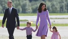 Prinz William und seine Familie