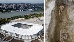 Rostow Russland WM-Stadion Grabstätte