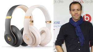 Beats-Chef Luke Wood mit dem neuen Studio 3