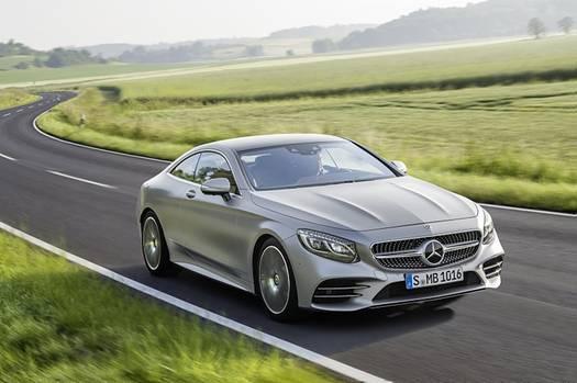 Mercedes S-Klasse Coupé 2018 - optisch kaum verändert