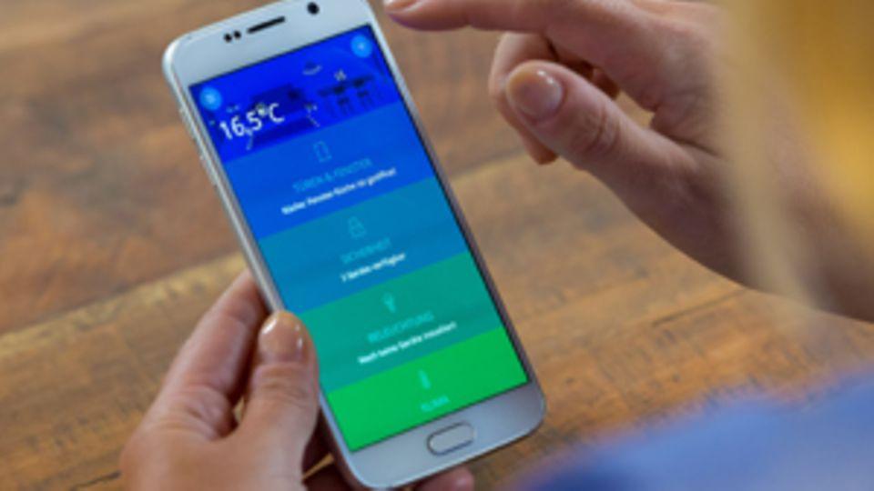 Smartes Leben: Haushalt 2.0: Wäsche waschen mit dem Handy