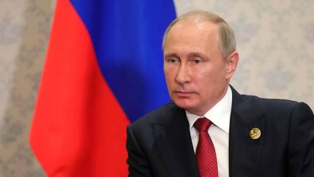 Wladimir Putin in Xiamen