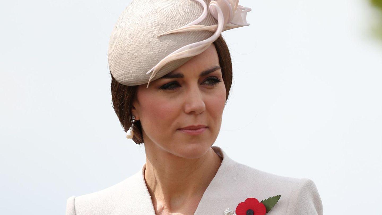 Herzogin Kate Middleton während eines Besuches in Belgien