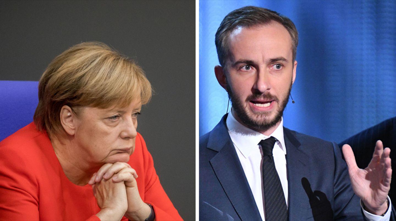 Satiriker Jan Böhmermann fordert von Angela Merkel, dass sie die Einschätzung zu seinem Gedicht zurücknimmt