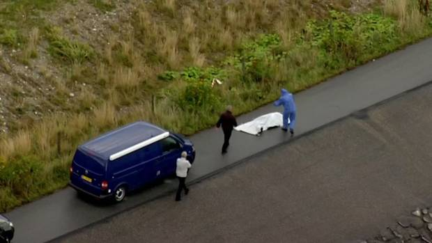 Forensiker bergen Kim Walls Torso auf der Insel Amager