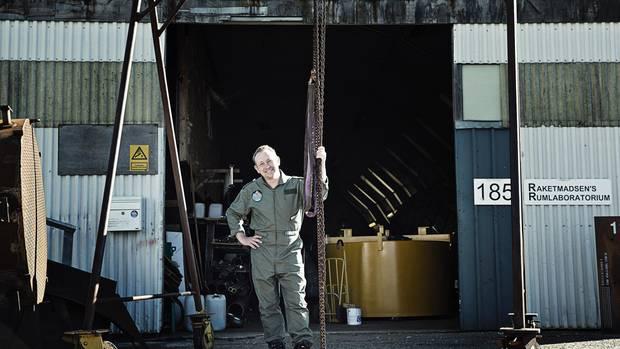 Madsens Werkstatt auf einem früheren Werftgelände