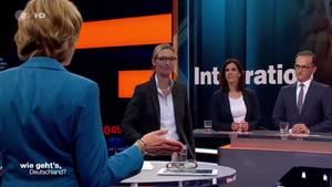 AfD-Spitzenkandidatin Alice Weidel verlässt ZDF-Wahlsendung