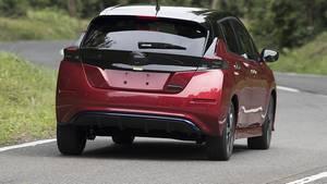 Nissan Leaf II 2018 - auch von hinten kaum wiederzuerkennen