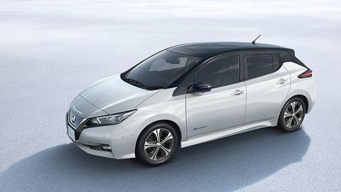 Nissan Leaf II 2018 - die maximale Reichweite liegt zwischen 380 und 500 km