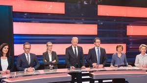 Wahl-Debatte ZDF