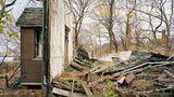 Bei dieser Ruine handelt es sich um die Reste eines Wohnhauses von einem der Ärzte, die auf der Insel lebten.