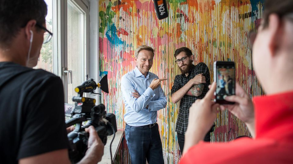 FDP-Chef Christian Lindner vor Bundestagswahl: Die Prinzenrolle