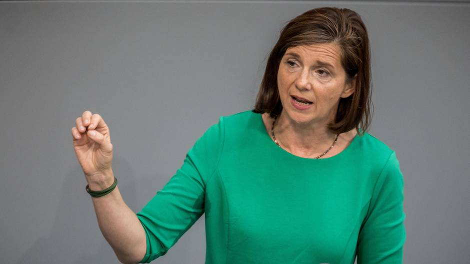 Spitzenkandidatin Grüne: Das ist Katrin Göring-Eckardt