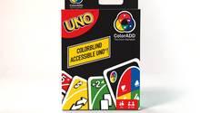 Mattel und ColorADD entwickelten Uno für Farbenblinde