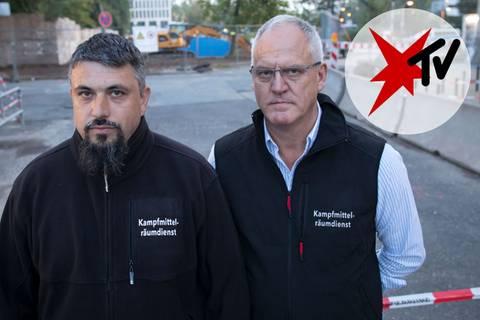 Evakuierung in Frankfurt: Bombenentschärfung: Wie René Bennert und Dieter Schwetzler zu Helden wurden