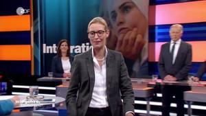 """Alice Weidels Abgang aus der Talkrunde """"Wie geht's, Deutschland?"""""""
