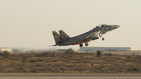 Israelische Luftwaffe fliegt Angriff auf Syrien (Symbolbild)