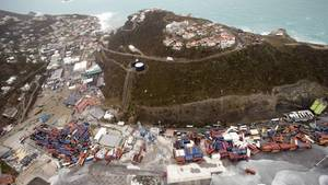 Irma wütet auf Sint Maartin