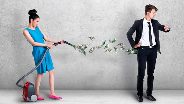 Frauen und Geld