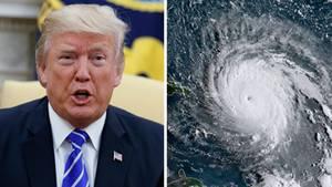 """Wirbelsturm """"Irma"""" hat auch für Donald Trump persönliche Konsequenzen"""