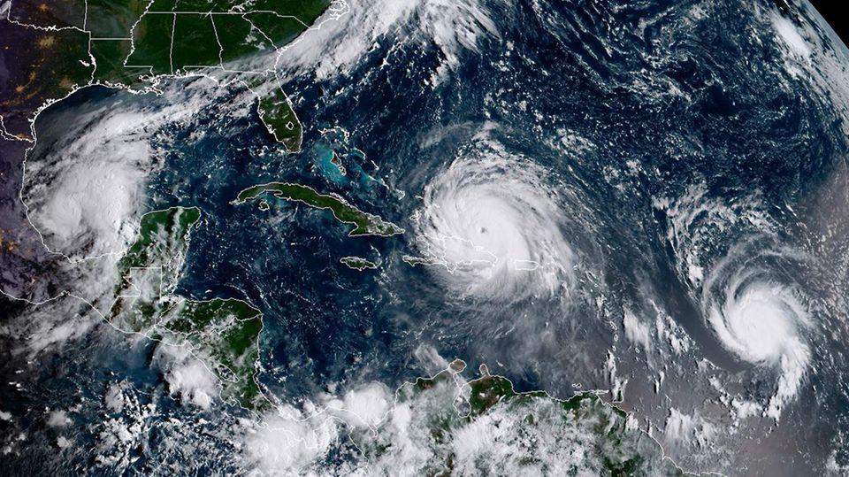 Drei Hurricane auf einmal: Katia, Irma, Jose - Namen dienen der einfachen Unterscheidung
